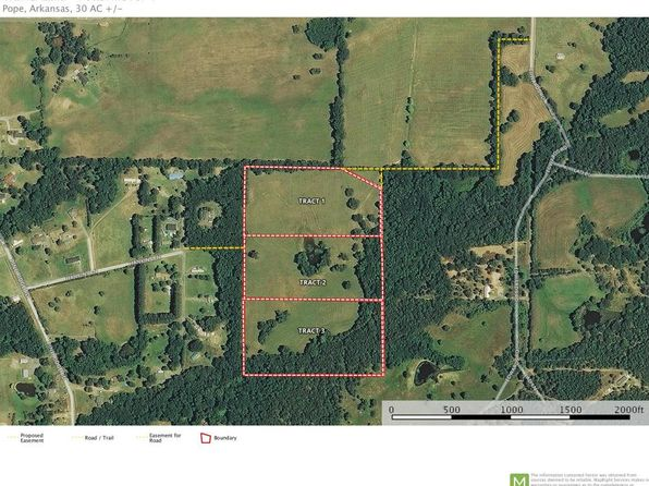 null bed null bath Vacant Land at  Tract 3 Hankins Pottsville, AR, 72858 is for sale at 50k - 1 of 2