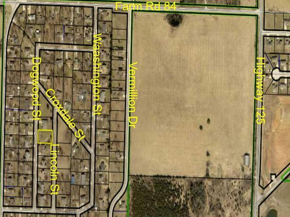null bed null bath Vacant Land at 0 N Lincoln St Strafford, MO, 65757 is for sale at 20k - google static map
