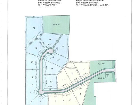 null bed null bath Vacant Land at 11106 Highclere Pl Fort Wayne, IN, 46814 is for sale at 186k - 1 of 4