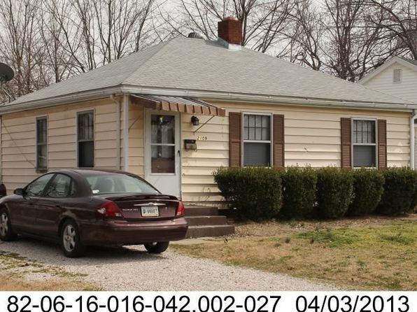 2 bed 1 bath Single Family at 2109 Oakland Ave Evansville, IN, 47711 is for sale at 40k - google static map