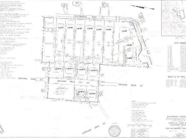 null bed null bath Vacant Land at  Lot # 6 Willowbrooke Upper St. Clair, PA, 15241 is for sale at 175k - google static map