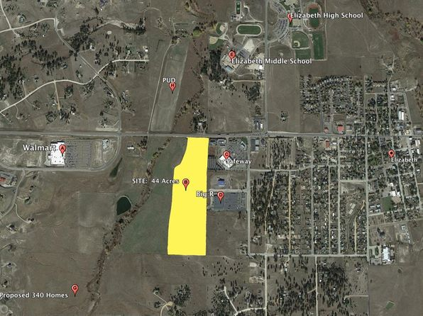 null bed null bath Vacant Land at  Highway 86 Elizabeth, CO, 80107 is for sale at 2.50m - google static map