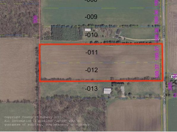 null bed null bath Vacant Land at 000 Ryan Rd Harvard, IL, 60033 is for sale at 105k - 1 of 4