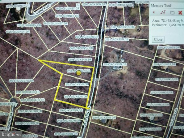 null bed null bath Vacant Land at 2700 Jackson Dr Haymarket, VA, 20169 is for sale at 45k - google static map