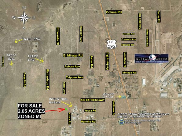 null bed null bath Vacant Land at  Yucca Rd Adelanto, CA, 92301 is for sale at 599k - 1 of 2
