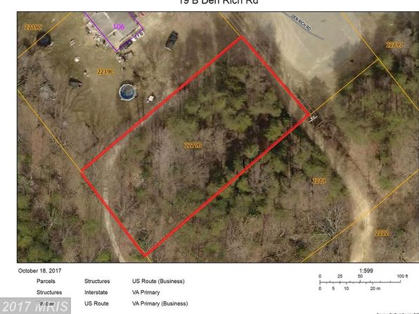null bed null bath Vacant Land at 19 Den Rich Rd Stafford, VA, 22554 is for sale at 99k - google static map