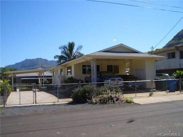 4 bed 2 bath Single Family at 87-870 EHU ST WAIANAE, HI, 96792 is for sale at 595k - 1 of 25