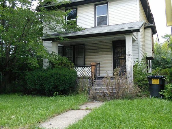 3 bed 1 bath Single Family at 1536 HAZELWOOD ST DETROIT, MI, 48206 is for sale at 25k - google static map