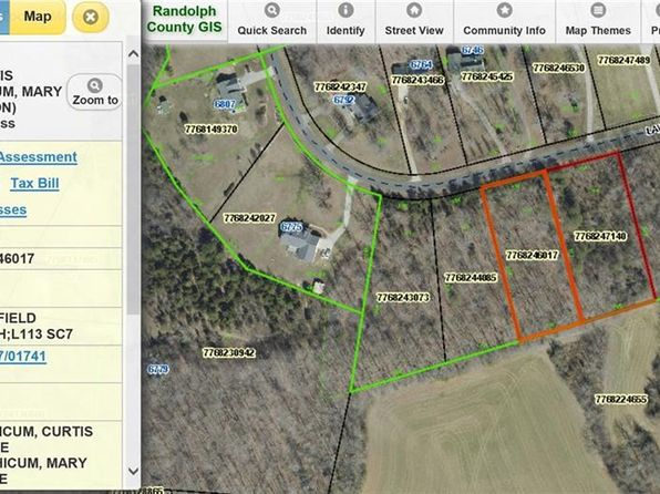 null bed null bath Vacant Land at  Lawrence Farm Ln Randleman, NC, 27317 is for sale at 20k - google static map