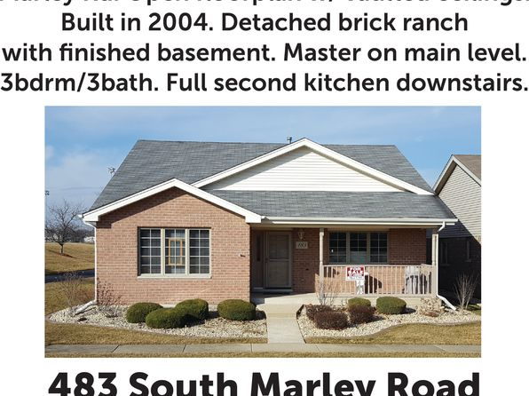 3 bed 3 bath Single Family at 483 S Marley Rd New Lenox, IL, 60451 is for sale at 283k - 1 of 51