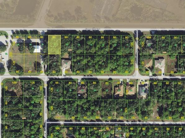 null bed null bath Vacant Land at 14297 CHANCELLOR BLVD PORT CHARLOTTE, FL, 33953 is for sale at 5k - google static map