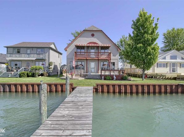 4 bed 3 bath Single Family at 8364 Middle Channel Dr Harsens Island, MI, 48028 is for sale at 410k - 1 of 48