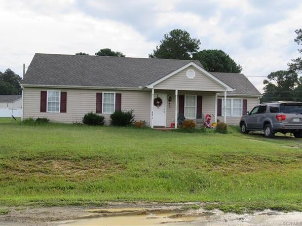 4 bed 2 bath Single Family at 29253 Meadowview Dr Waverly, VA, 23890 is for sale at 109k - 1 of 3