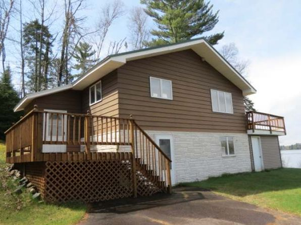 2 bed 2 bath Single Family at 4560 W LAKE OF THE FALLS RD MERCER, WI, 54547 is for sale at 175k - 1 of 20