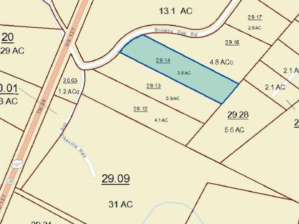 null bed null bath Vacant Land at  BROWNS GAP RD CROSSVILLE, TN, 38555 is for sale at 55k - 1 of 6