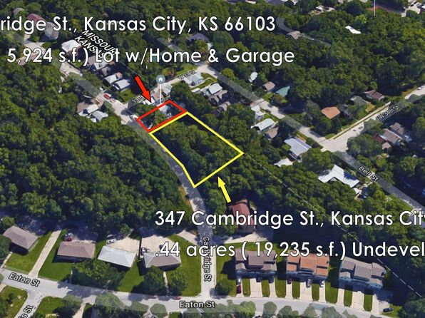 null bed null bath Vacant Land at 347 Cambridge St Kansas City, KS, 66103 is for sale at 69k - 1 of 3