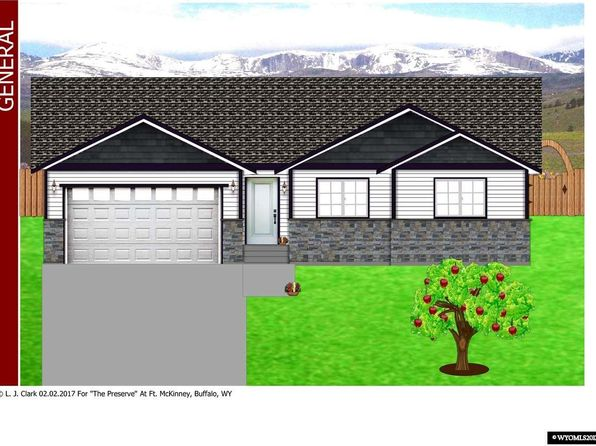 3 bed 2 bath Single Family at 633 Melody St Buffalo, WY, 82834 is for sale at 329k - google static map