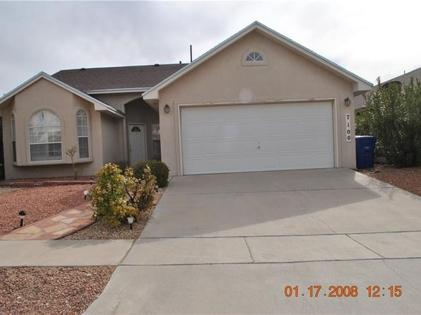 3 bed 2 bath Single Family at 7100 TIERRA ROJA ST EL PASO, TX, 79912 is for sale at 155k - 1 of 6