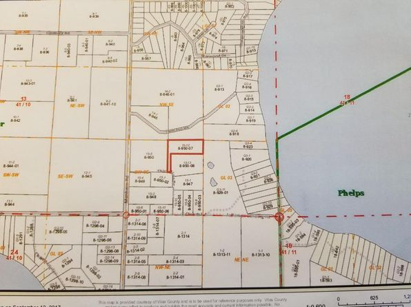 null bed null bath Vacant Land at 3756 Thick Pine Dr Conover, WI, 54519 is for sale at 62k - 1 of 2