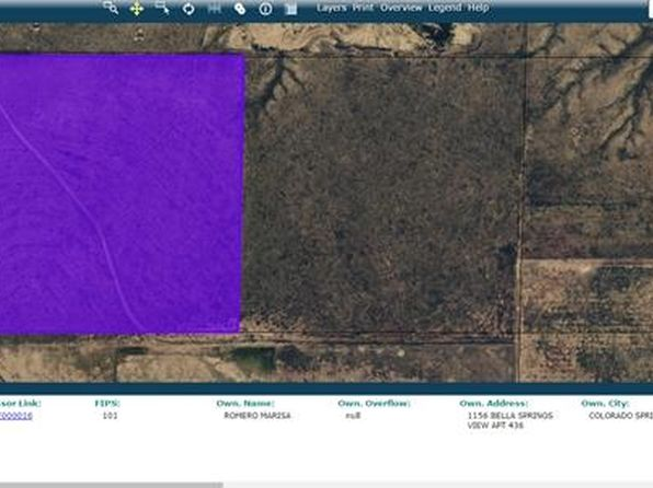 null bed null bath Vacant Land at  Tbd Hwy Boone, CO, 81025 is for sale at 80k - 1 of 2