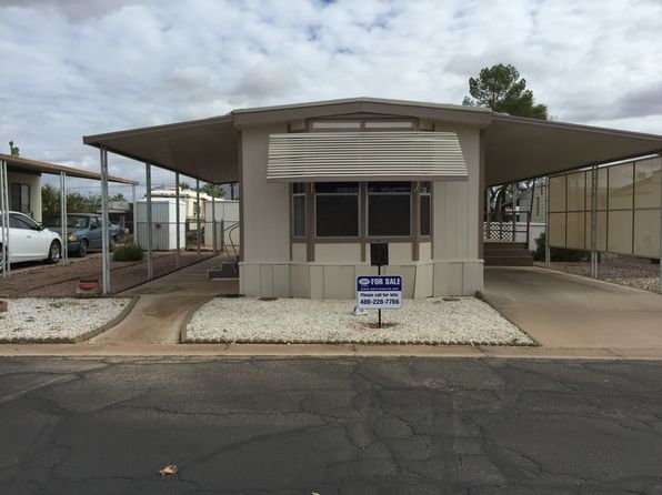 1 bed 1 bath Mobile / Manufactured at 202 N Meridian Rd Apache Junction, AZ, 85120 is for sale at 13k - 1 of 14