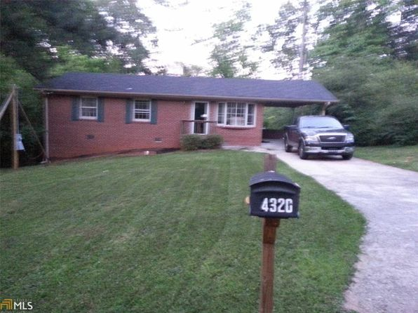 4 bed 2 bath Single Family at 4320 Cottage Ln Conley, GA, 30288 is for sale at 115k - 1 of 5