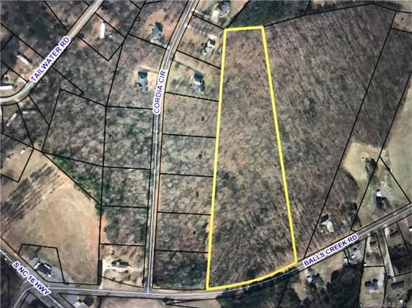 null bed null bath Vacant Land at 11.25 Acres Balls Creek Rd Newton, NC, 28658 is for sale at 81k - google static map