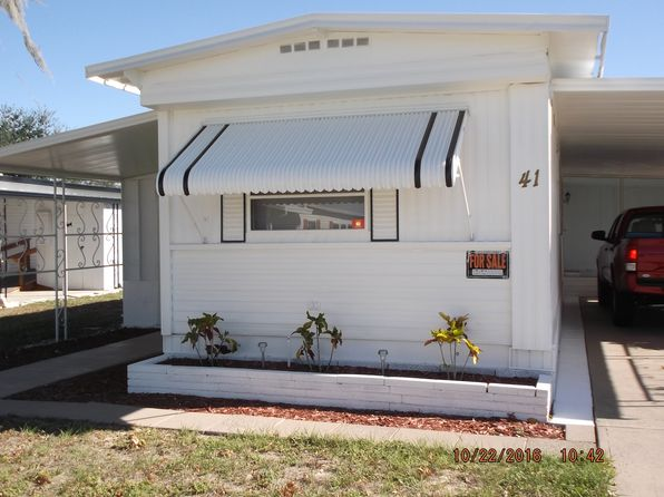 2 bed 2 bath Mobile / Manufactured at 41 Prairie Ter Haines City, FL, 33844 is for sale at 15k - 1 of 29