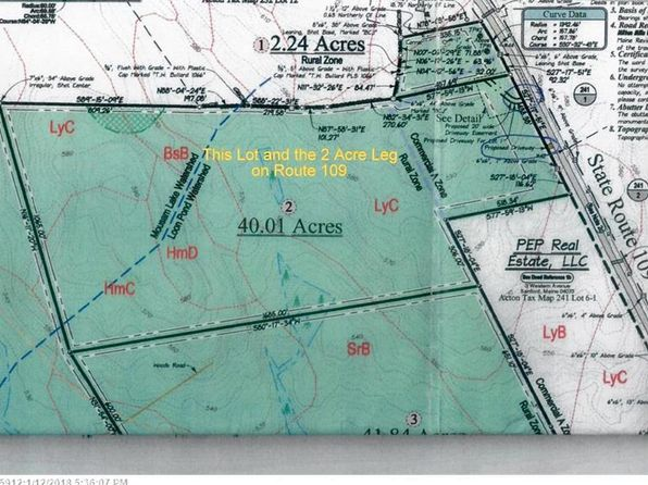 null bed null bath Vacant Land at  00 ROUTE 109 ACTON, ME, 04001 is for sale at 140k - 1 of 6