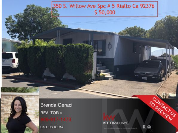 2 bed 2 bath Mobile / Manufactured at 350 S Willow Ave Rialto, CA, 92376 is for sale at 30k - google static map