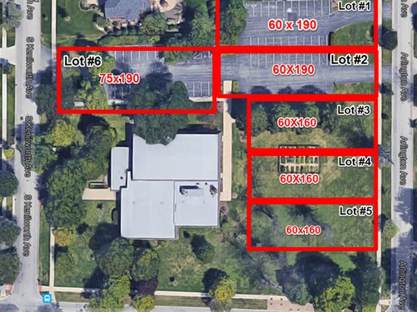 null bed null bath Vacant Land at  Lot # 1 Arlington Ave Elmhurst, IL, 60126 is for sale at 599k - google static map