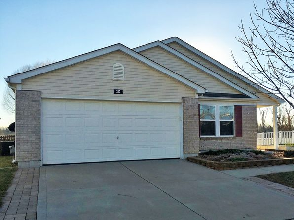 4 bed 2 bath Single Family at 312 Falling Leaf Way Mascoutah, IL, 62258 is for sale at 170k - 1 of 11