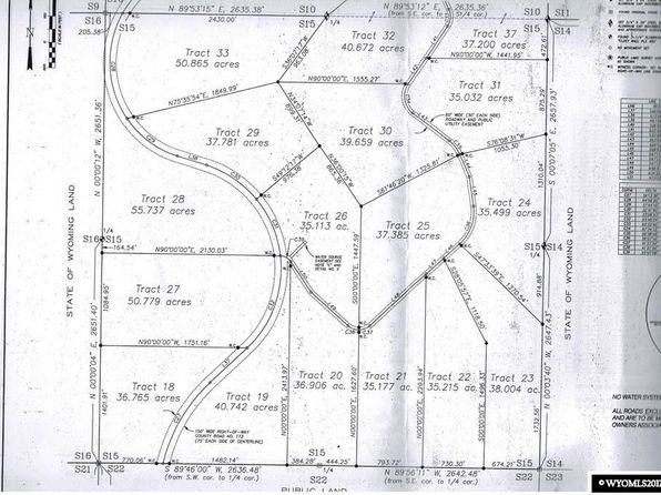 null bed null bath Vacant Land at  Tract 55 High Pt Evanston, WY, 82930 is for sale at 35k - google static map