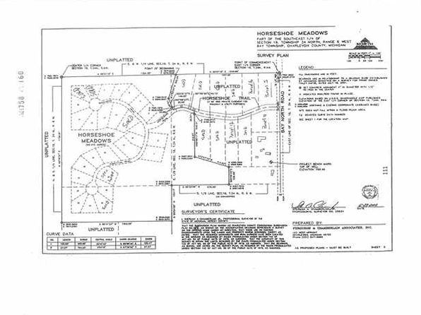 null bed null bath Vacant Land at 4 Horseshoe Trl Petoskey, MI, 49770 is for sale at 16k - google static map
