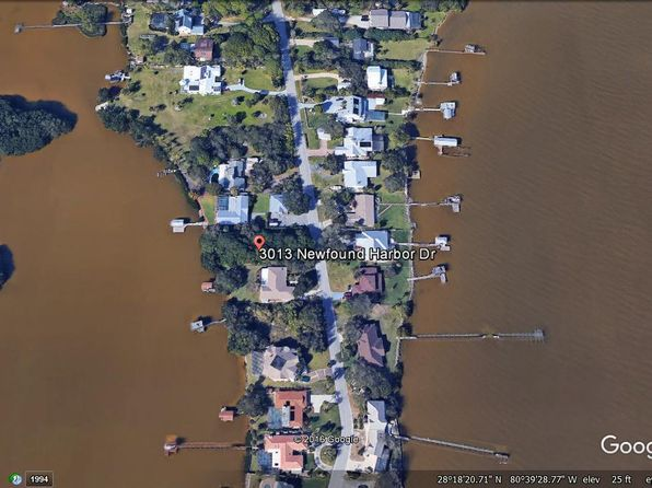 null bed null bath Vacant Land at 3013 NEWFOUND HARBOR DR MERRITT ISLAND, FL, 32952 is for sale at 400k - google static map