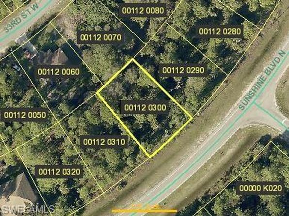 null bed null bath Vacant Land at 3515 Sunshine Blvd Lehigh Acres, FL, 33971 is for sale at 6k - google static map