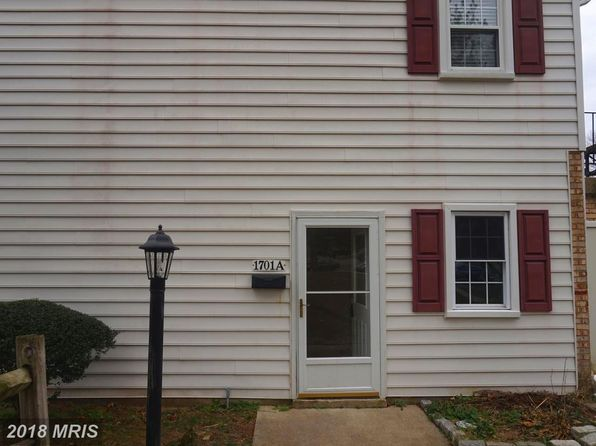 2 bed 1 bath Townhouse at 1701 W Bancroft Ln Crofton, MD, 21114 is for sale at 190k - 1 of 14