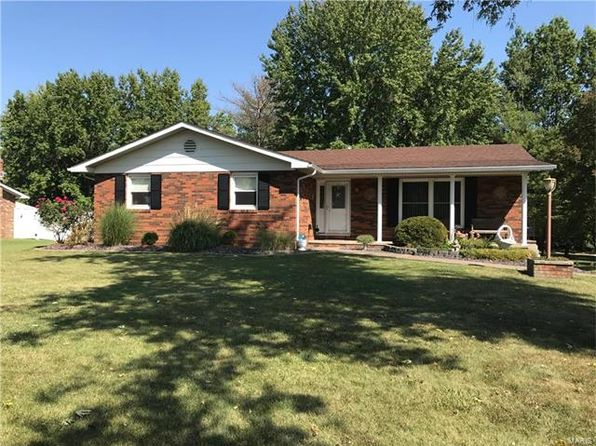 3 bed 3 bath Single Family at 3016 Mark Trail Dr Glen Carbon, IL, 62034 is for sale at 175k - google static map