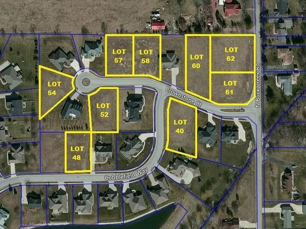 null bed null bath Vacant Land at 7548 Brownstone Ct Greenfield, IN, 46140 is for sale at 39k - google static map