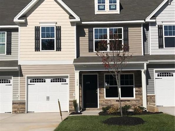 2 bed 3 bath Townhouse at 104 Tanner Grove Ct Kernersville, NC, 27284 is for sale at 154k - 1 of 12