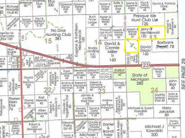 null bed null bath Vacant Land at  Tbd Coyote Rd Posen, MI, 49776 is for sale at 159k - 1 of 7