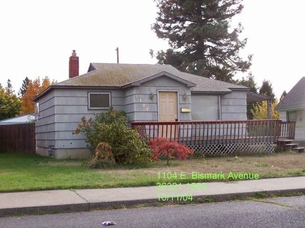 4 bed 2 bath Single Family at 1104 E Bismark Ave Spokane, WA, 99208 is for sale at 93k - 1 of 11
