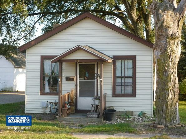 2 bed 1 bath Single Family at 116 W Railroad St Sandwich, IL, 60548 is for sale at 40k - 1 of 9