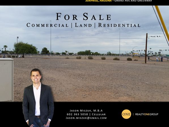 null bed null bath Vacant Land at 0 NW Grand Ave W Surprise, AZ, 85374 is for sale at 100k - google static map