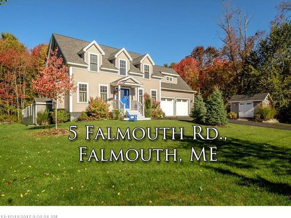 4 bed 3 bath Single Family at 5 FALMOUTH RD FALMOUTH, ME, 04105 is for sale at 465k - 1 of 15