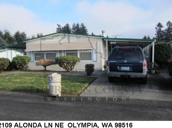 2 bed 2 bath Mobile / Manufactured at 2109 Alonda Ln NE Olympia, WA, 98516 is for sale at 27k - 1 of 12