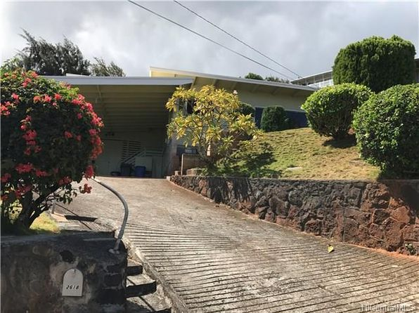 3 bed 2 bath Single Family at 2618 Peter St Honolulu, HI, 96816 is for sale at 879k - 1 of 7