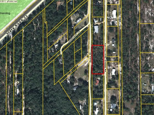 null bed null bath Vacant Land at 6736 SPRING LAKE VILLAGE RD KEYSTONE HEIGHTS, FL, 32656 is for sale at 7k - google static map