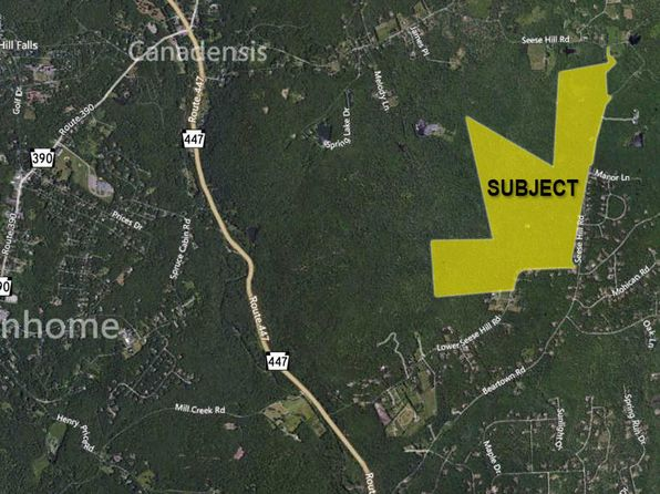 null bed null bath Vacant Land at  Hill Rd Canadensis, PA, 18325 is for sale at 699k - google static map
