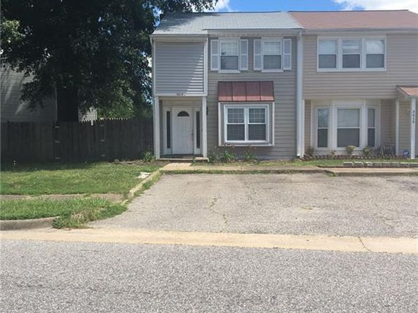 3 bed 3 bath Townhouse at 3613 Harbinger Rd Virginia Beach, VA, 23453 is for sale at 150k - 1 of 13